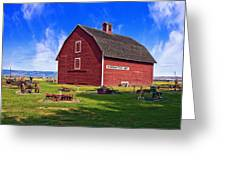 The Olmstead Place Greeting Card by Wendy White