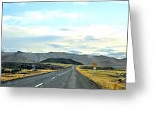 The Open Road Greeting Card