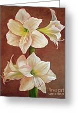 The Opening Flower Greeting Card