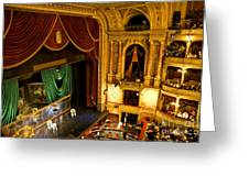 The Opera House Of Budapest Greeting Card
