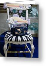 The Original Fish Chair  Greeting Card