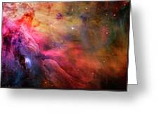 The Orion Nebula Close Up I Greeting Card