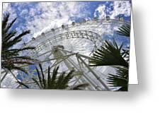 The Orlando Eye Greeting Card