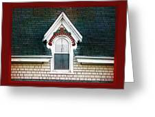 The Ornamented Gable Greeting Card
