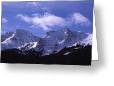 The Other Side Of The Mountains Greeting Card
