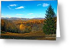 The Other Side Of The Road In Wv Greeting Card