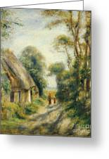 The Outskirts Of Berneval  Greeting Card