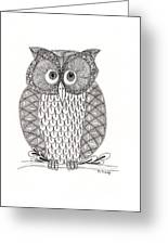 The Owl's Who Greeting Card