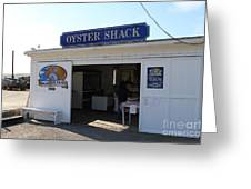 The Oyster Shack At Drakes Bay Oyster Company In Point Reyes California . 7d9832 Greeting Card