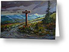 The Paintbrush Trail, Manning Provincial Park, B C Greeting Card