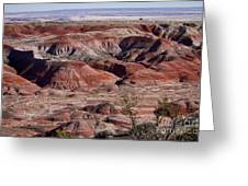 The Painted Desert  8062 Greeting Card