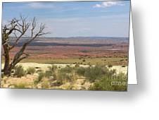 The Painted Desert Of Utah 1 Greeting Card