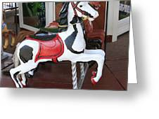 The Painted Horse Greeting Card