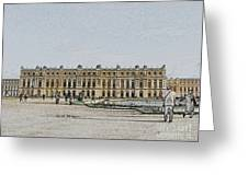 The Palace Of Versailles Greeting Card