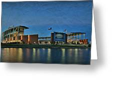 The Palace On The Brazos Greeting Card