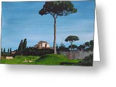 The Palatine Hill, Rome Greeting Card