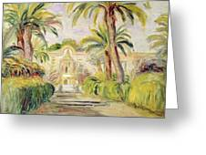 The Palm Trees Greeting Card