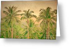 The Palms Greeting Card