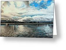 The Panoramic Painting Greeting Card