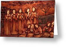 The Parable Of The Ten Virgins Greeting Card
