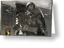 The Paratrooper Greeting Card