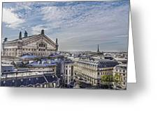 The Paris Opera 5 Art Greeting Card