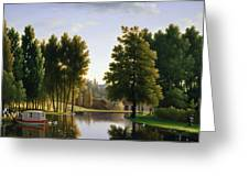 The Park At Mortefontaine Greeting Card