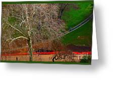 The Parc Des Buttes-chaumont # 1. Greeting Card