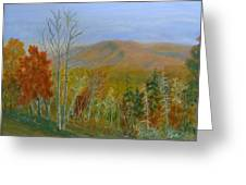 The Parkway View Greeting Card
