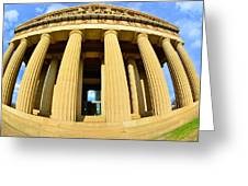 The Parthenon In Nashville Tennessee 3 Greeting Card