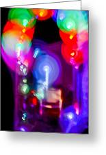 The Party Is Waiting Greeting Card