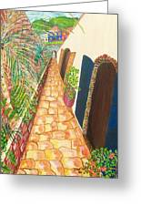 The Passage Way Greeting Card