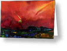 The Passing Sky Greeting Card