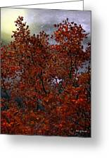 The Passion Of Autumn Greeting Card
