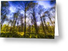 The Pastel Forest Greeting Card