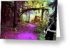 The Path Leads Ahead Greeting Card