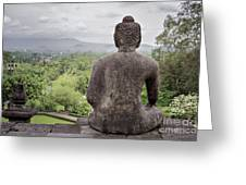 The Path Of The Buddha #9 Greeting Card