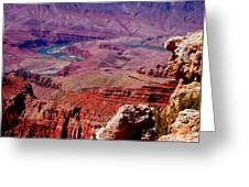 The Path Of The Colorado River Greeting Card