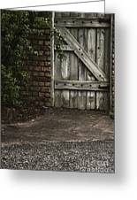 The Path To The Doorway Greeting Card