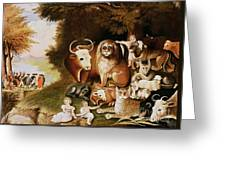 The Peaceable Kingdom Greeting Card