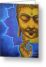 The Peaceful Buddha Greeting Card