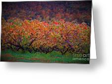 The Peach Orchard Greeting Card