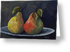 The Pears  Greeting Card