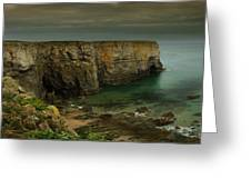 The Pembrokeshire Cliffs Greeting Card