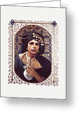 The Penitent Woman - Lgtpw Greeting Card