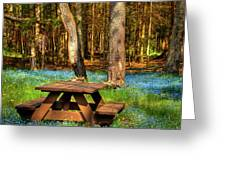 The Perfect Picnic Spot Greeting Card