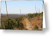 The Permian Reef Trail Greeting Card