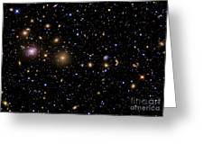 The Perseus Galaxy Cluster Greeting Card