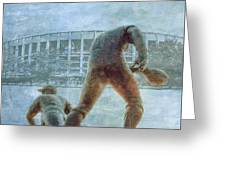 The Phillies At Veterans Stadium Greeting Card