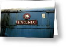 The Phoenix Greeting Card